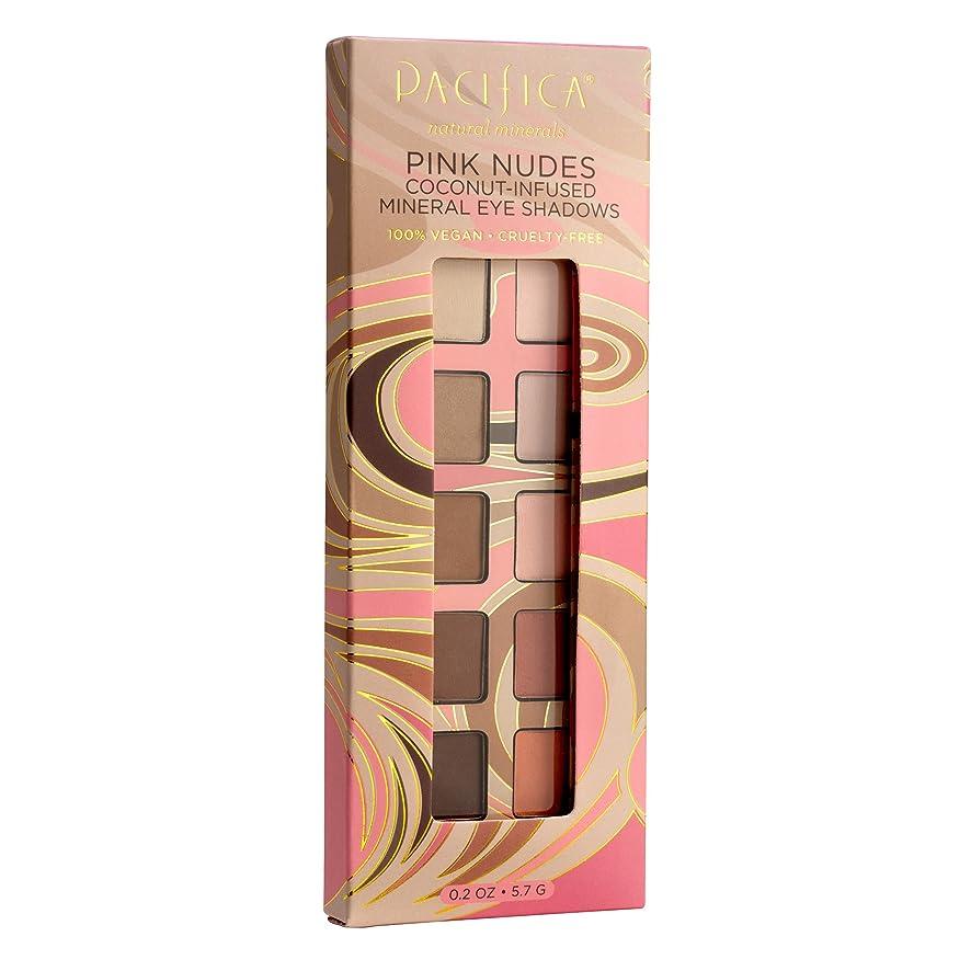 インサートポータル性的Pacifica ミネラル アイシャドー Pink Nudes Mineral Eyeshadows 100%ヴィーガン