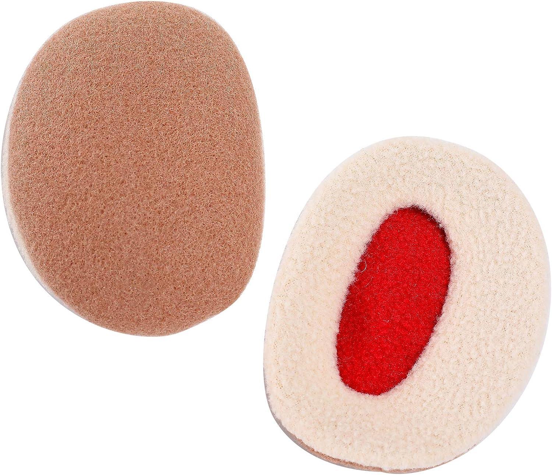 Yolispa Bandless Ear Warmers -Winter Fleece Ear Muffs Soft Cover Windproof Earmuffs Outdoor for Men Women