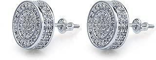 hip hop bling earrings
