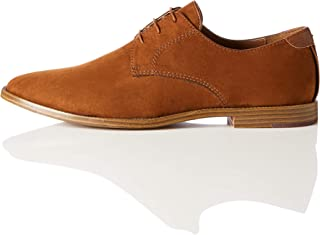 Giày cao cấp nam – Amazon Brand – find. Men's Suede-Look Derby Shoes