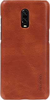 oneplus 6t genuine leather case