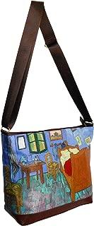 Masterpiece Painting Shoulder Bag Vincent Van Gogh In The Bedroom Messenger Bag