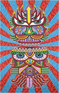 Sunshine Joy 3D Hungry Eyes Tapestry Beach Sheet Hanging Wall Art - Artwork by Chris Dyer - 60x90 Inches - Amazing 3-D Effects