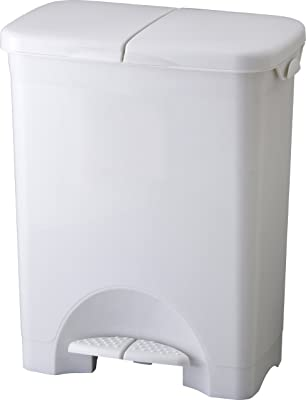 リス ゴミ箱 『用途で選べる分類ゴミ容器』 H&H分類ペタルペール 45PW 45L GY
