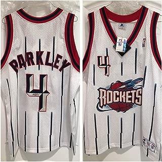 Charles Barkley Autographed Signed Houston Rockets Authentic Jersey PSA