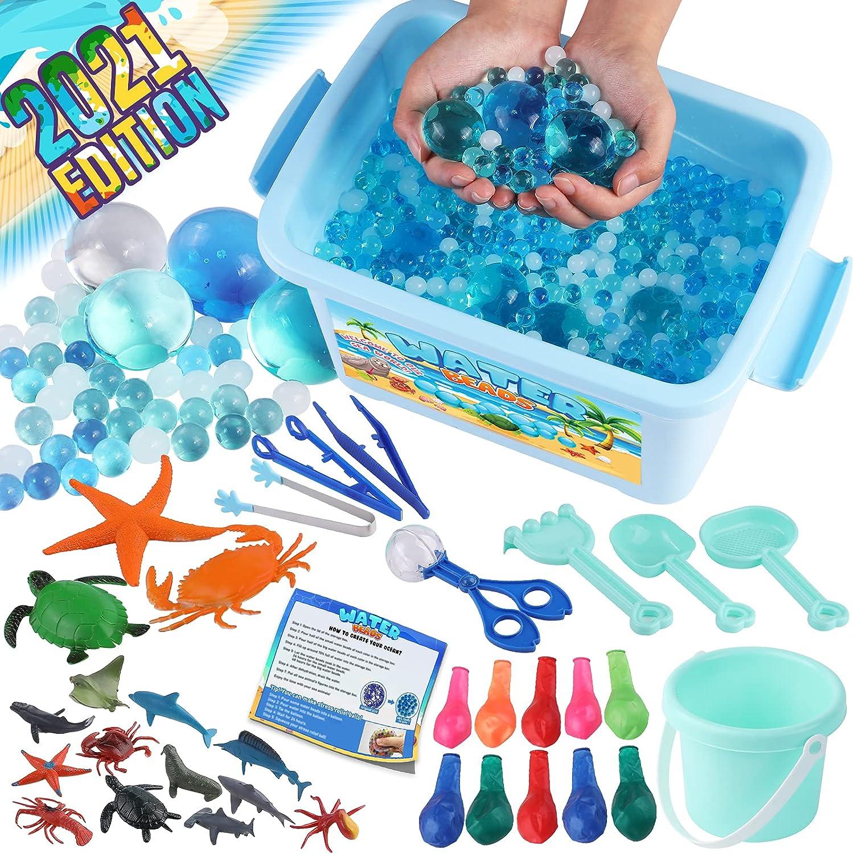 Excellent Same day shipping Peertoys Water Animal Beads Sensory Toys - Toddler Beach Ki Pool