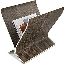 Umbra Arling Magazine Rack, Aged Walnut
