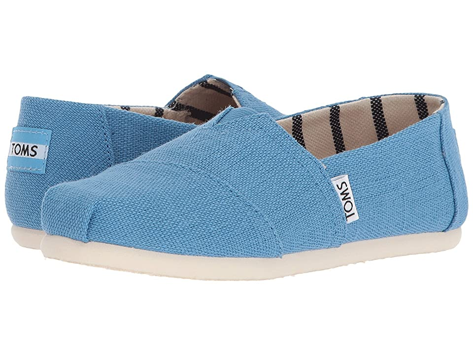 TOMS Kids Venice Collection Alpargata (Little Kid/Big Kid) (Clear Sky Heritage Canvas) Kid