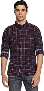 Amazon Brand - Inkast Denim Co. Men's Checkered Slim Fit Full Sleeve Cotton Casual Shirt