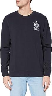 Wrangler Men's Graphic Crew Sweatshirt