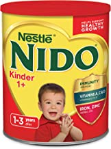 Nido Kinder 1+ Powdered Milk Beverage, 3.52 Pound, 1 Count