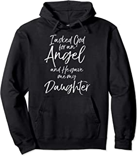 i asked god for an angel hoodie
