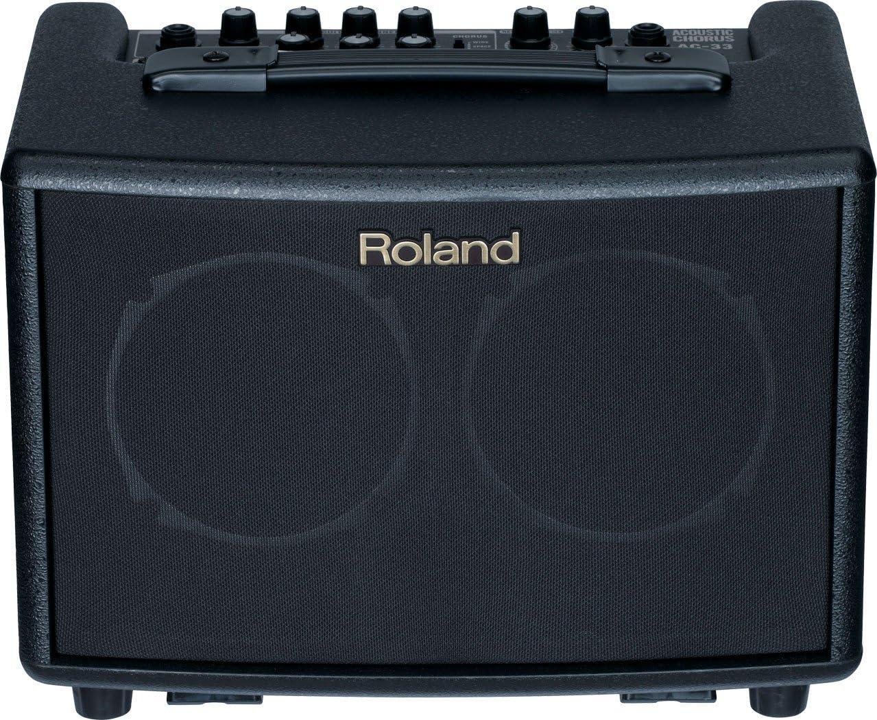 Roland AC-33 Acoustic Chorus Battery-powered 30-Watt Guitar Amplifier