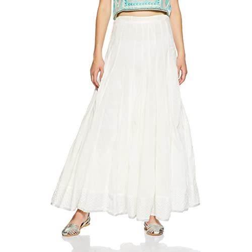 0d9fd71be9 White Skirt: Buy White Skirt Online at Best Prices in India - Amazon.in
