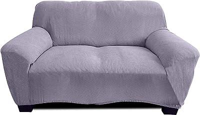 Funda de sofá de residencia., gris, 2 Sitzer