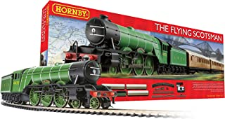 Hornby- The Flying Scotsman Train Set Model, Color Green (R1167)