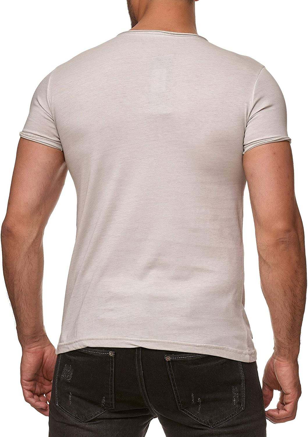 HERMKO 4887 Mens Extra Long V-Neck Shirt in Selected Sizes