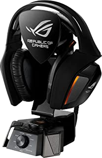 ASUS ROG Centurion True 7.1 Surround Gaming Headset with Digital Microphone, ESS Headphone Amplifier for PC