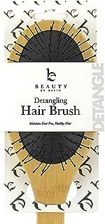 Detangler Brush Hair Brush - Hair Brushes for Women, Mens Hair Brush, Kids Hair Brush, Use With Hair Products, Wet or Dry Detangling Brush, Hair Detangler Bristle Brush, Bamboo Hair Brush, Brush Hair