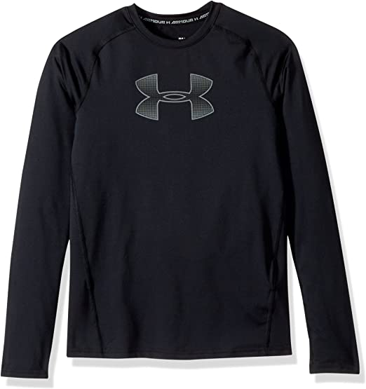 Under Armour I/'ll Be Home Soon Baseball Graphic Tee Size 6 Black FREE SHIP