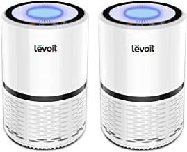 LEVOIT Air Purifier for Home Smokers Allergies and Pets Hair, True HEPA Filter, Quiet in..