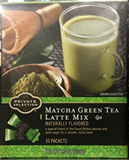 Private Selection Matcha Green Tea Latte Mix 8.3 oz (Pack of 2)