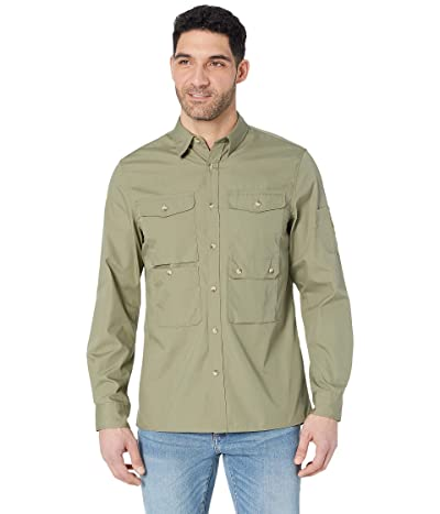 Fjallraven Ovik Shade Pocket Shirt (Green) Men