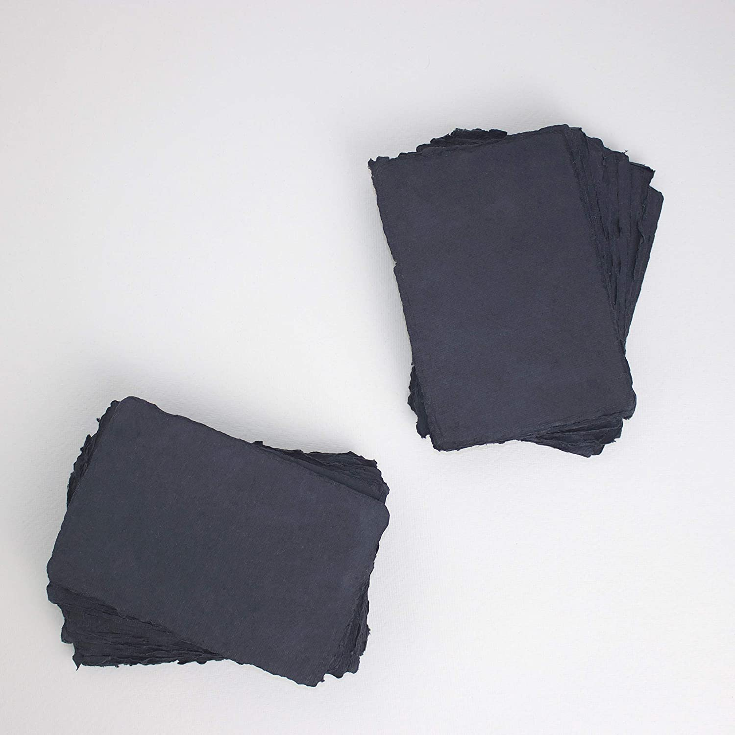 Cheap 4.1 inch x 5.8 Today's only A6 Handmade 150gsm Cotton Black Paper