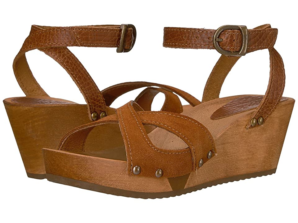 Sanita Thalia Wedge Flex Sandal (Cognac) Women