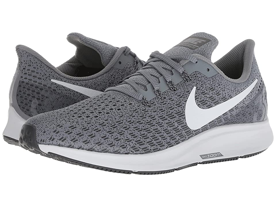 Nike Air Zoom Pegasus 35 (Cool Grey/Pure Platinum) Men's Running Shoes