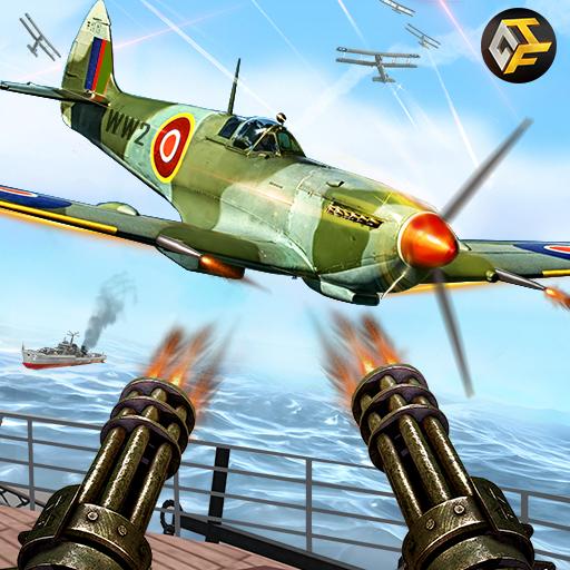 Seconde Guerre mondiale Naval Canonnier Bataille Frappe aérienne: Monde de Guerre Jeux