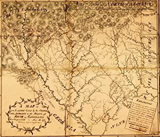 A Map of the lands ceded by the Cherokee Indians to the State of South-Carolina at a congress held in May AD 1777 containi...