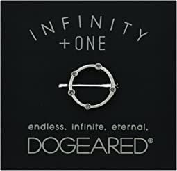 Dogeared - Infinity + One, Halo w/ Crystal Ring
