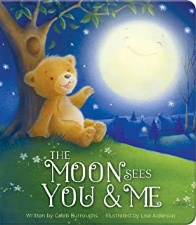 The Moon Sees You & Me: Special Edition Upsized Board Book