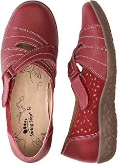 Spring Step Women's Shoes Heloise Leather, Suede Slip-On