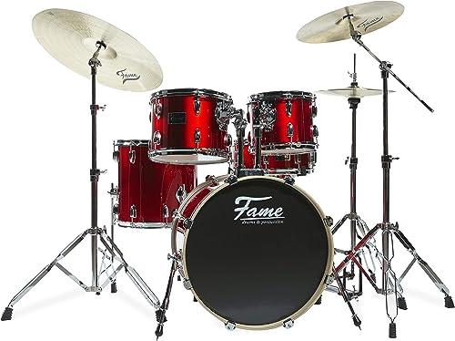 Blaze Studio Set 5201 Schlagzeug  rouge