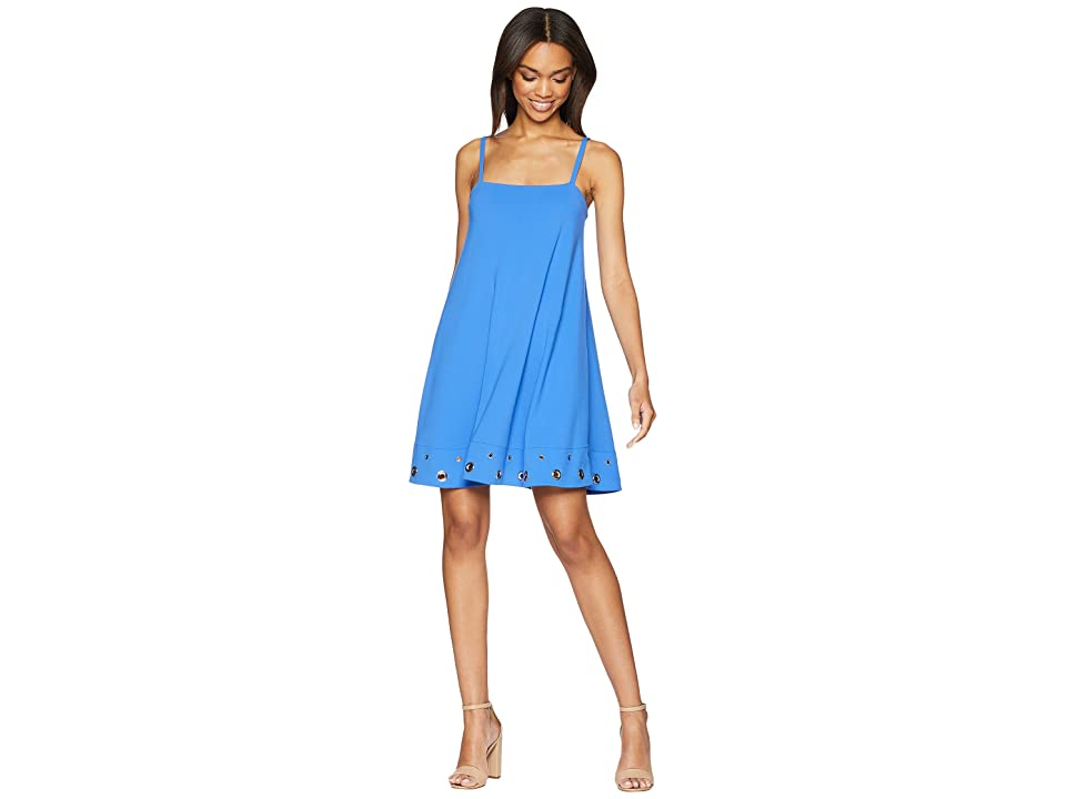 Susana Monaco Grommet Hem Detail Dress (Laguna) Women