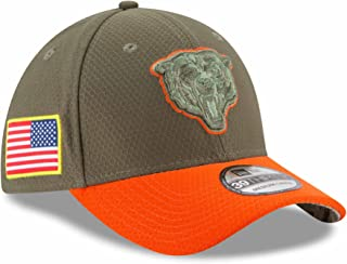 New Era Chicago Bears NFL 2017 Salute to Service 39THIRTY Cap