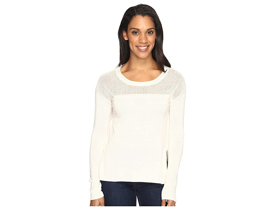 Toad&Co Jacinta Crew Sweater (Salt) Women