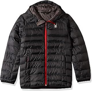 Spyder boys Boys' Geared Hoody Synthetic Down Jacket