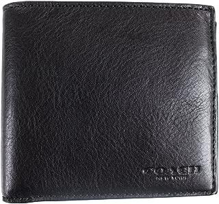 coach men's double billfold wallet