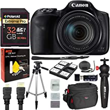 Canon PowerShot SX540 Digital Camera with 64GB Memory Card, Vivitar HDMI to Mini HDMI C Cable, Tripod Bundle