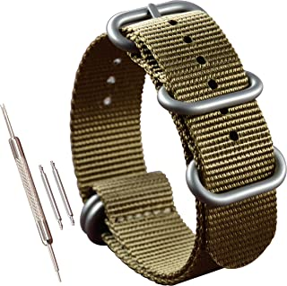 Thick Nylon Watch Band (18mm 19mm 20mm 21mm 22mm 23mm 24mm 26mm)