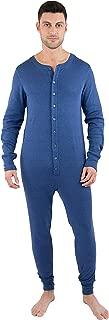 INTIMO Mens Classic Union Suit Pajama