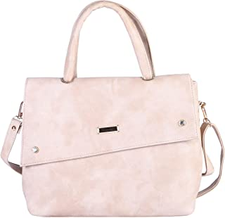 SaleBox Women's Handbag (Angle Flap) leather handbags for girls stylish latest