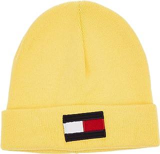 تومي هيلفغر قبعة صوفية للاطفال، اصفر، مقاس S/M