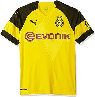 PUMA Men's BVB Home Shirt with Evonik Logo
