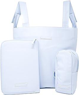 Amazon.es: bolso carrito bebe polipiel blanco