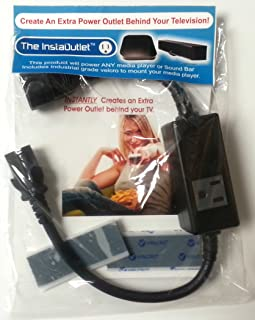 The InstaOutlet® for Media Players Chromecast, Roku, Apple TV