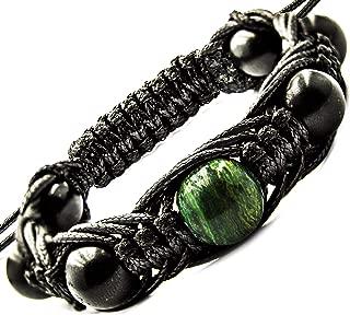 Arachne Bracelet Shungite Natural Shungites and Gemstone Beads
